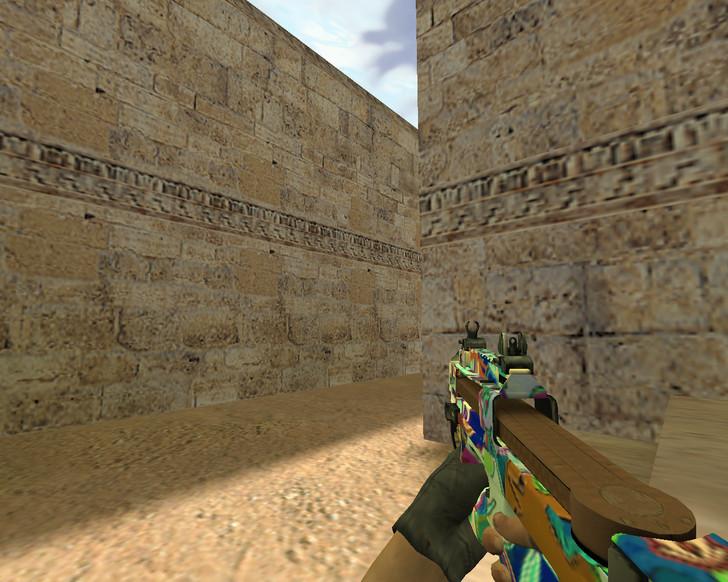 «P90 Цветной» для CS 1.6