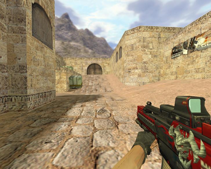 «P90 Дракон будущего» для CS 1.6