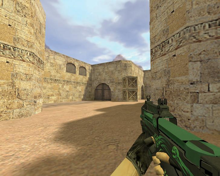 «P90 Мрак» для CS 1.6