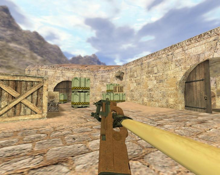 «P90 Кожаный» для CS 1.6