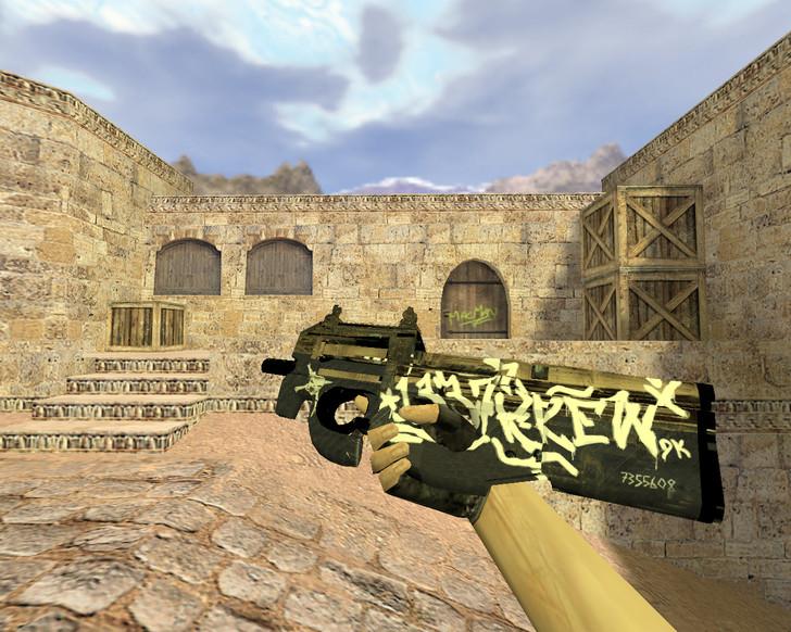 P90 Пустынный повстанец