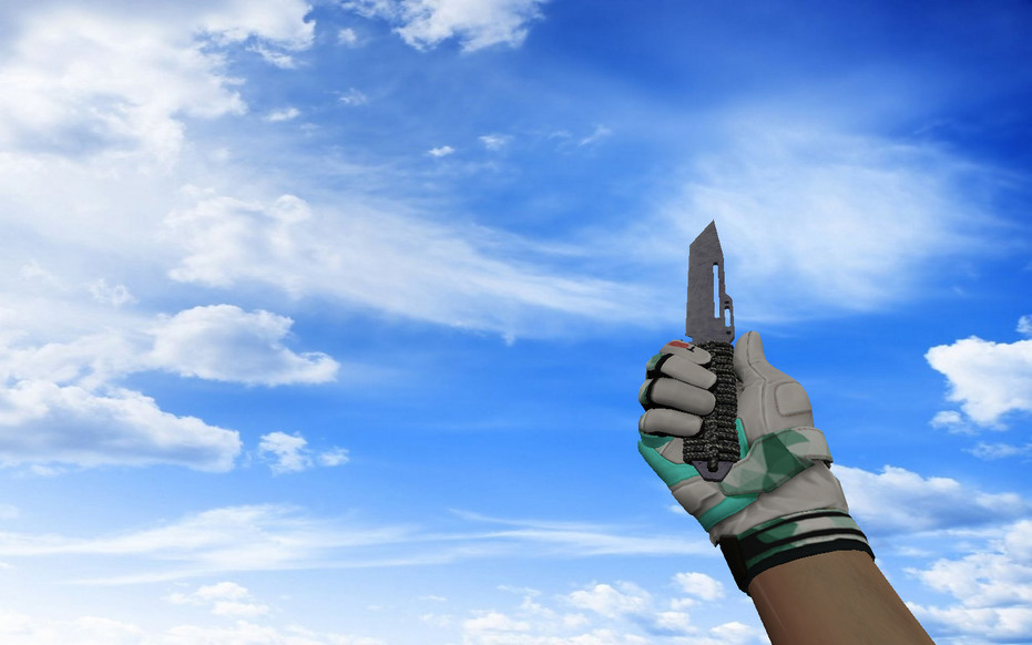 «☆ Паракорд-нож | Воронёная сталь» для CS 1.6