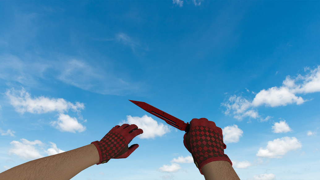 «Паракорд-нож Кровавая паутина» для CS 1.6