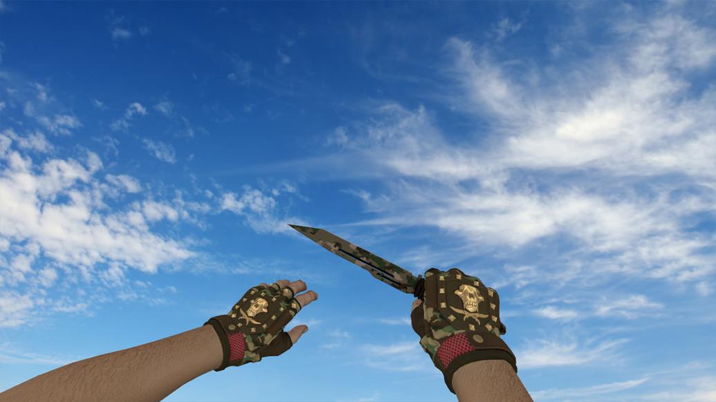 «Паракорд-нож Пиксельный камуфляж
