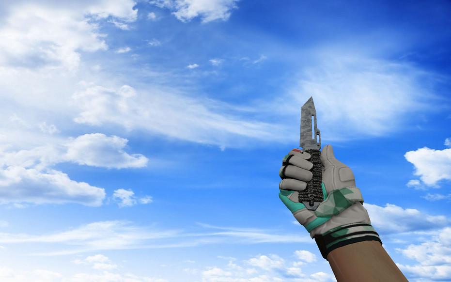 «☆ Паракорд-нож | Патина» для CS 1.6