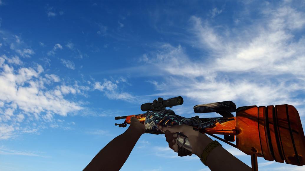 «Пак оружия с пиратскими руками» для CS 1.6