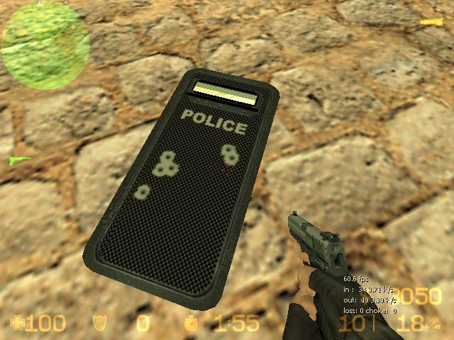«Police Carbon Shield» для CS 1.6