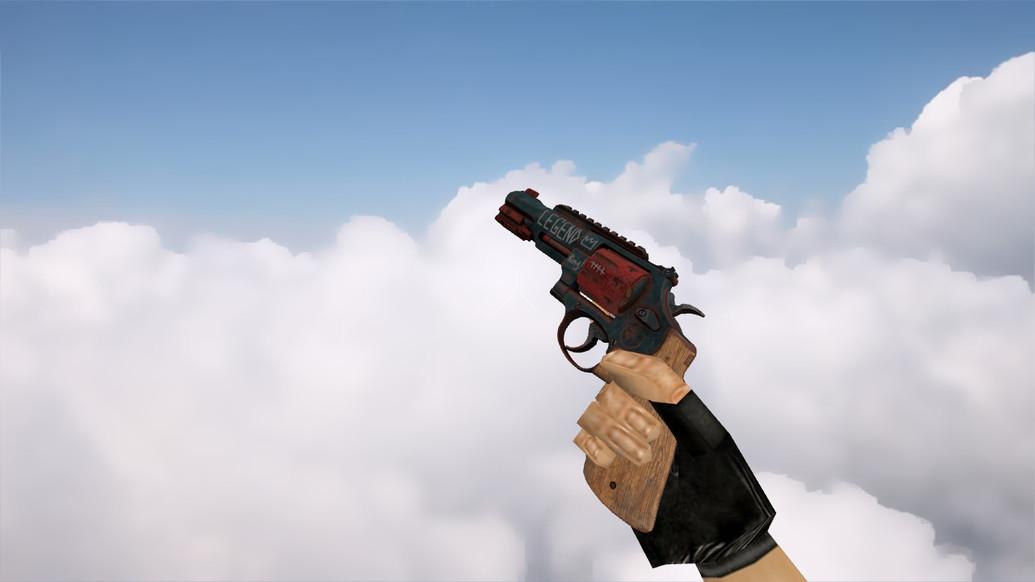 «R8 Revolver | Junk Yard» для CS 1.6