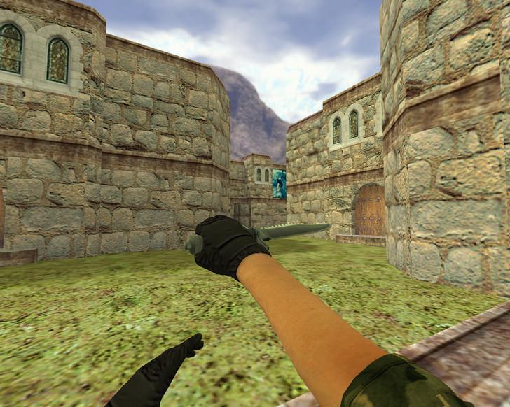 «Нож Рэмбо» для CS 1.6