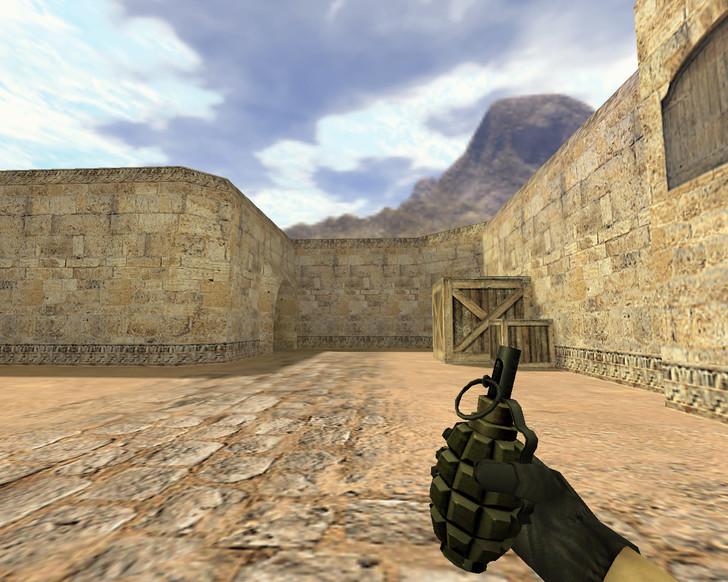 «Пак реалистичных гранат» для CS 1.6