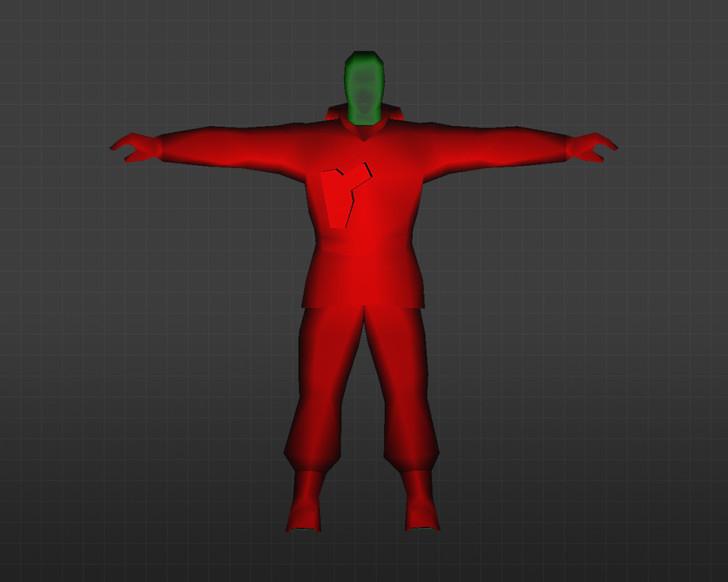 «Красные и синие с зеленой головой» для CS 1.6