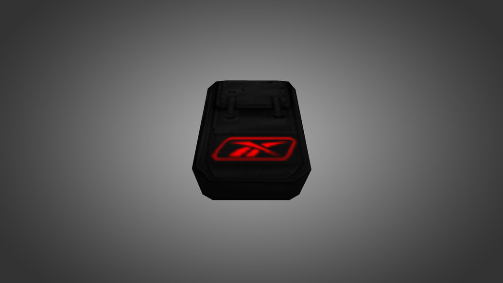 «Red Logo Reebok Backpack» для CS 1.6