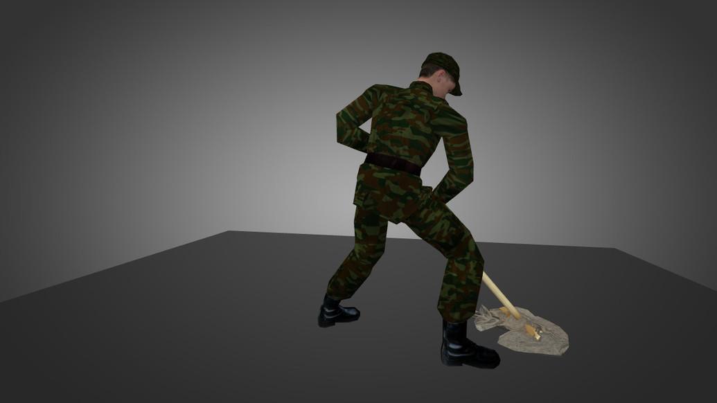 «Russian Soldier» для CS 1.6