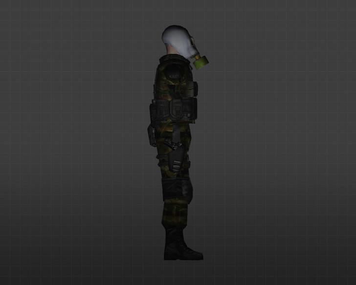 «Спецназ-противогаз» для CS 1.6