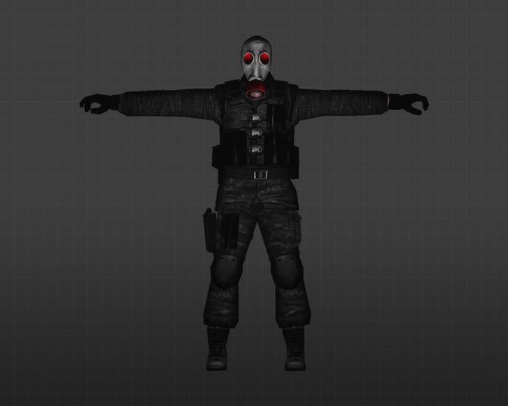 «SAS Красноглазый» для CS 1.6