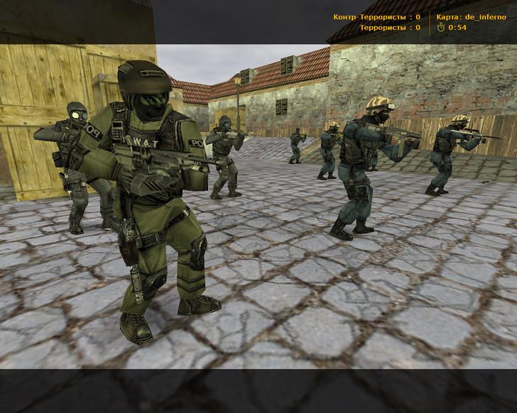 Сборка CS 1.6 Classic HD