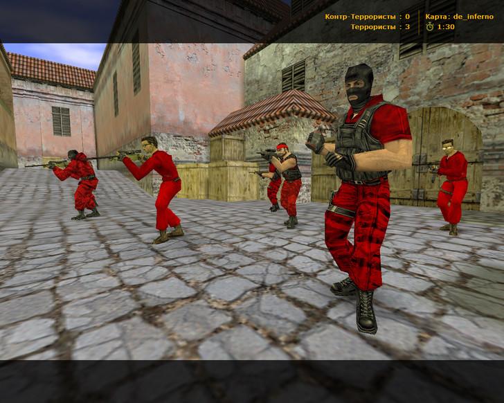Сборка CS 1.6 Rage