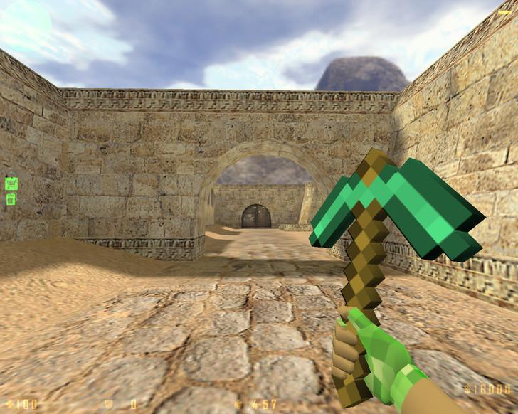 Сборка CS 1.6 Minecraft