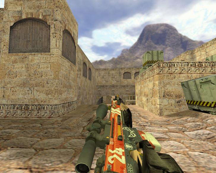 «SCAR Кровавый спорт» для CS 1.6