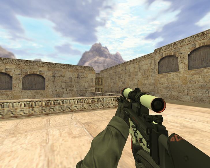 «SCAR Сайрекс» для CS 1.6