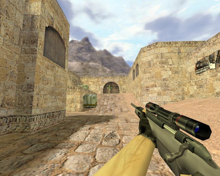 «Scout с прицелом-крестиком» для CS 1.6