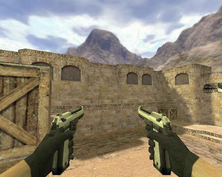 «Dual Elites Серебро» для CS 1.6