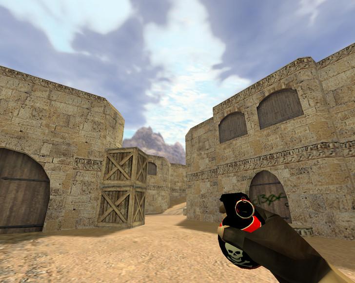«Пак гранат Череп» для CS 1.6