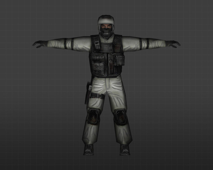 «Снежный спецназ» для CS 1.6