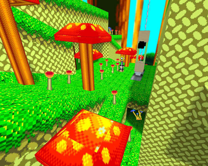 «sonic_mushroomhill» для CS 1.6