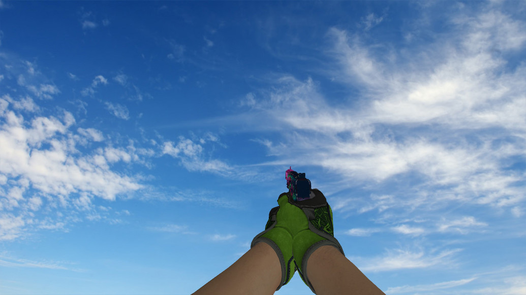 «Specialist Gloves Emerald Web Pack» для CS 1.6