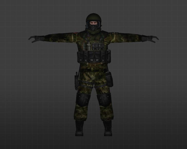 «Спецназ АЛЬФА» для CS 1.6