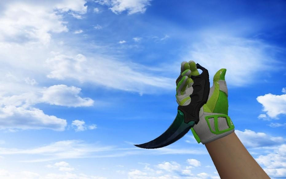 «Пак «Спортивные перчатки | Живая изгородь»» для CS 1.6