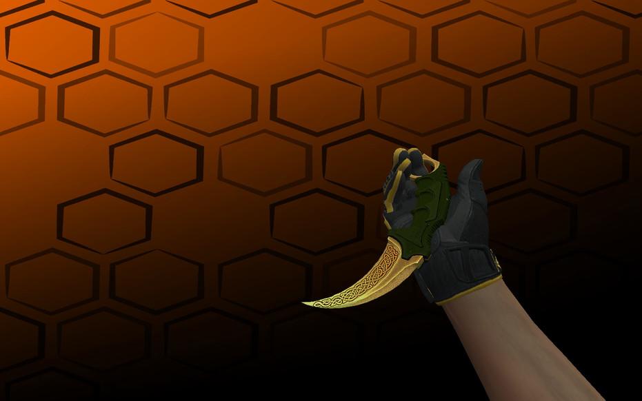 «Пак ★ Спортивные перчатки | Омега» для CS 1.6