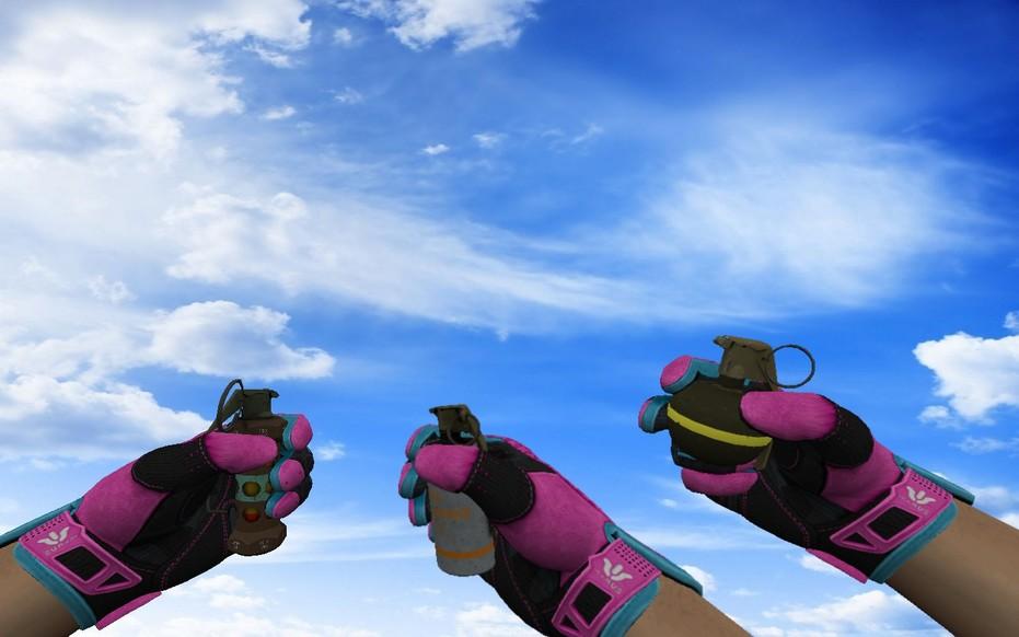 «Пак «Спортивные перчатки Порок»» для CS 1.6