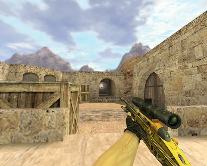 «SSG-08 Большая пушка» для CS 1.6
