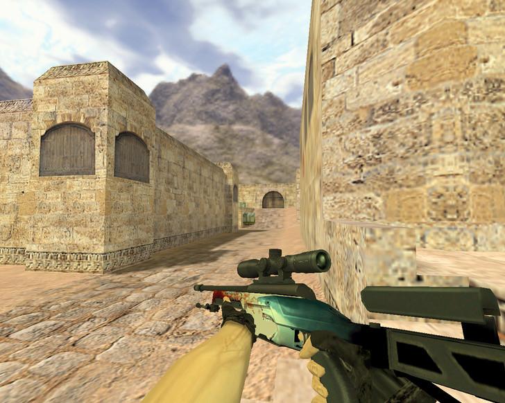 «SSG-08 Кровь в воде» для CS 1.6