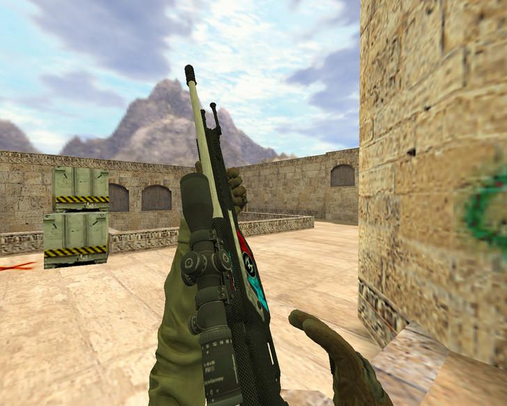 «SSG-08 Сила спецназа» для CS 1.6
