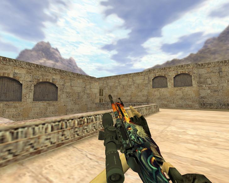«SSG-08 Пламя дракона» для CS 1.6