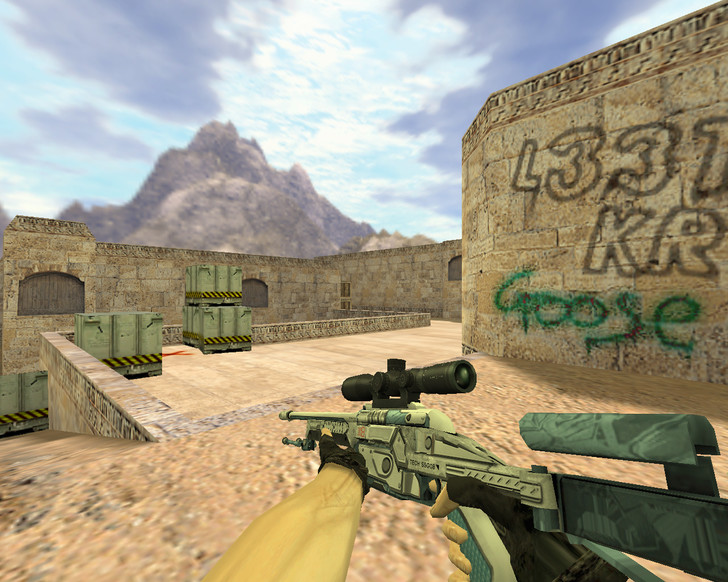 «SSG-08 Призрачный фанатик» для CS 1.6