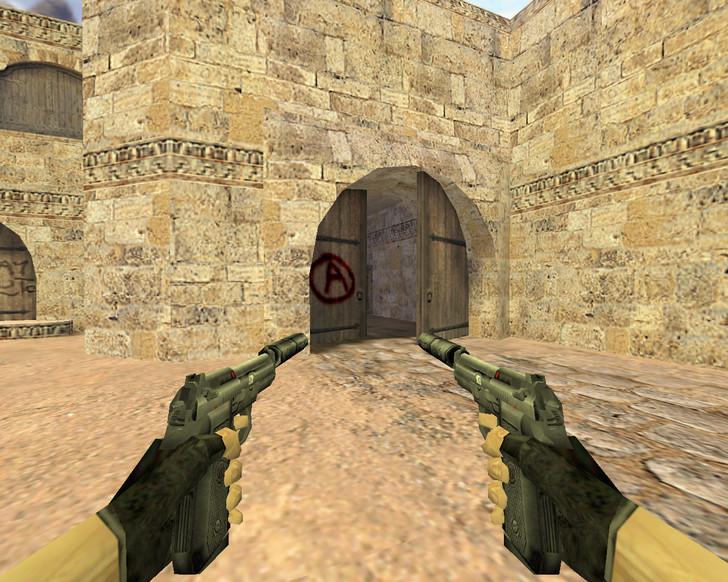«Dual Elites с глушителем» для CS 1.6