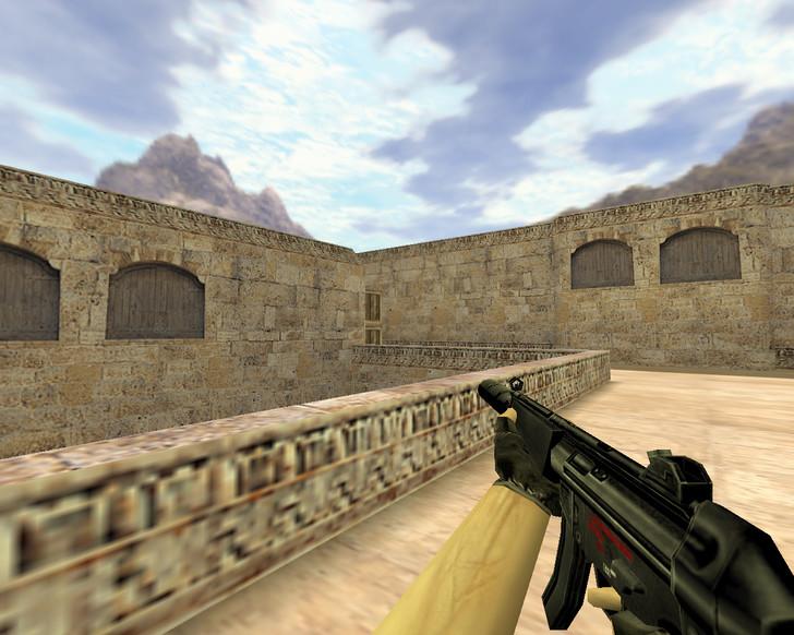 «MP5 с глушителем» для CS 1.6