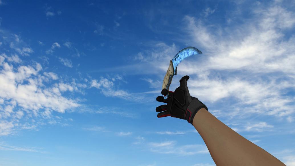 «Talon Knife Ice» для CS 1.6