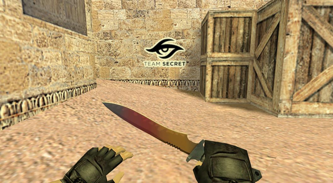 «Team Secret Logo» для CS 1.6