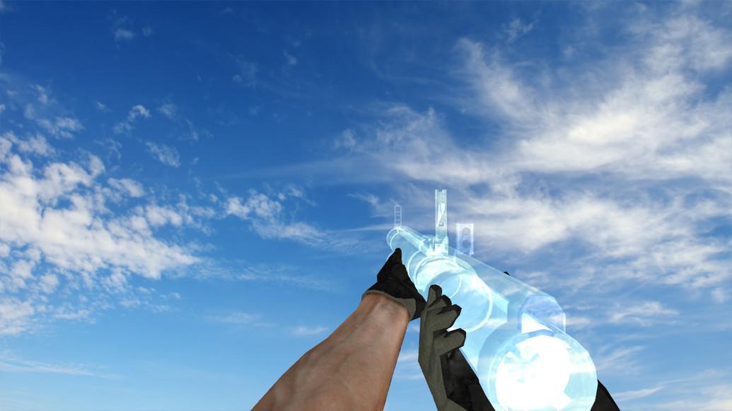 «Пак прозрачных моделей оружия» для CS 1.6