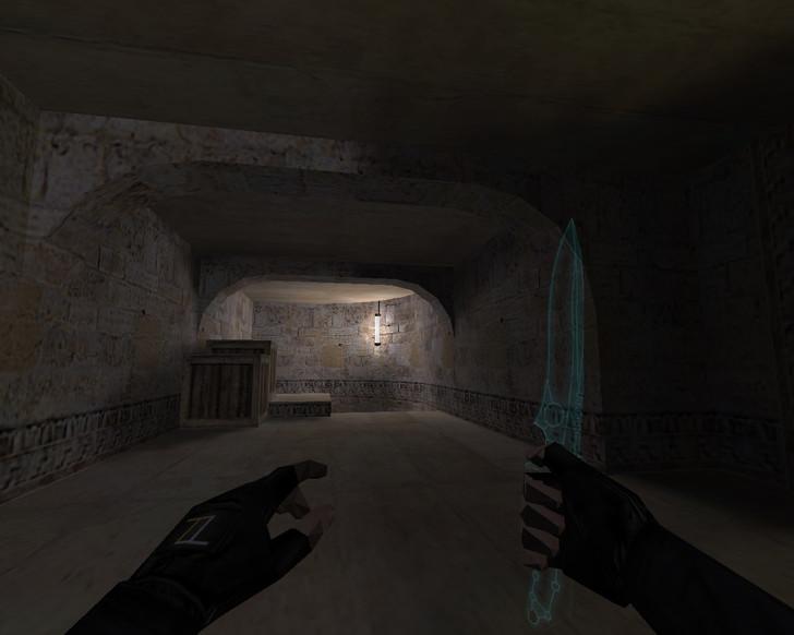 «Прозрачный нож ТРОН» для CS 1.6