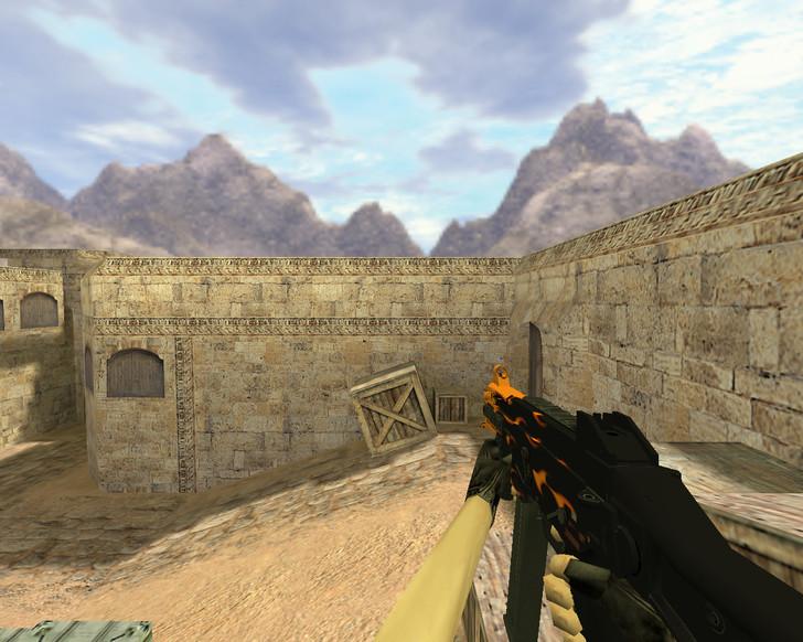 «UMP-45 Пламя» для CS 1.6