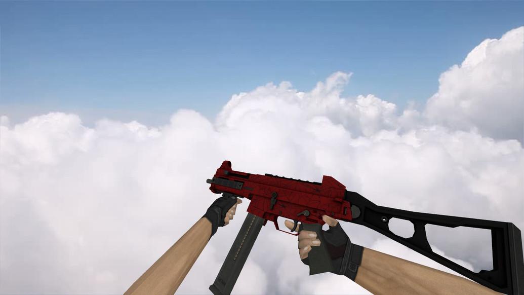 «UMP-45 «Кровавая паутина»» для CS 1.6