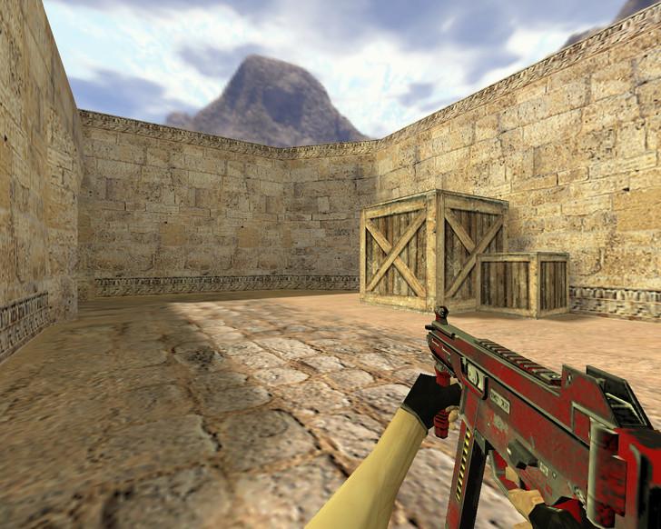 «UMP-45 Красный» для CS 1.6