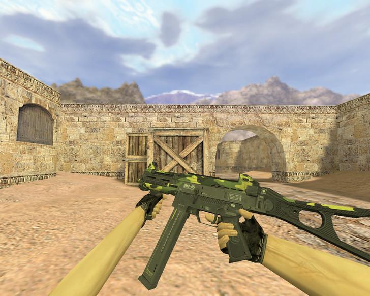 «UMP-45 Бунт» для CS 1.6