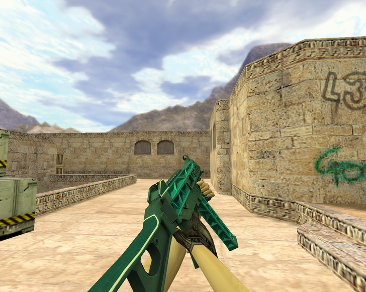 «UMP-45 Каркас» для CS 1.6